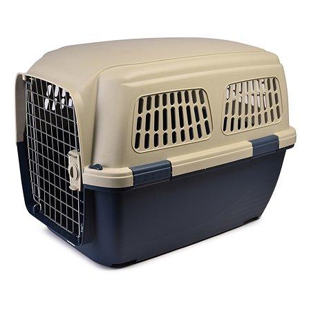 Переноска для кошек и собак MARCHIORO Cayman 4 Сине-бежевая