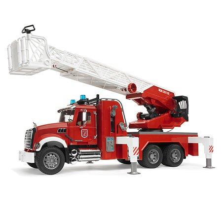 Машина Bruder Mack Пожарная с лестницей 02-821