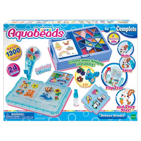 Набор Aquabeads Студия Делюкс с формой-перевертышем 32798