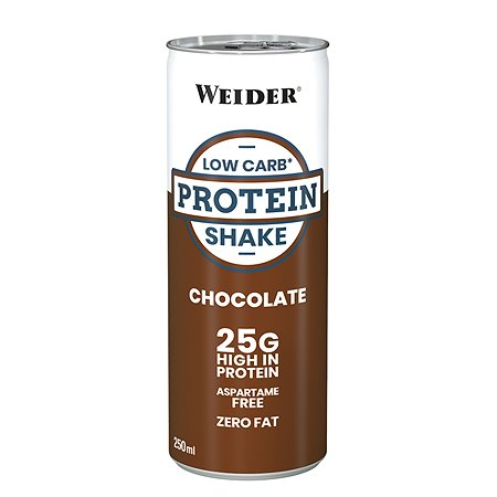 Напиток WEIDER Low Carb protein shake шоколад 250мл