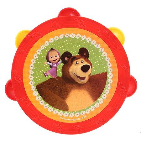 Игрушка Играем вместе Маша и Медведь Бубен 255490