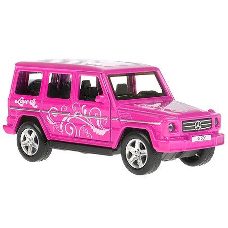 Машина Технопарк Mercedes-Benz G-Class Розовый 306253