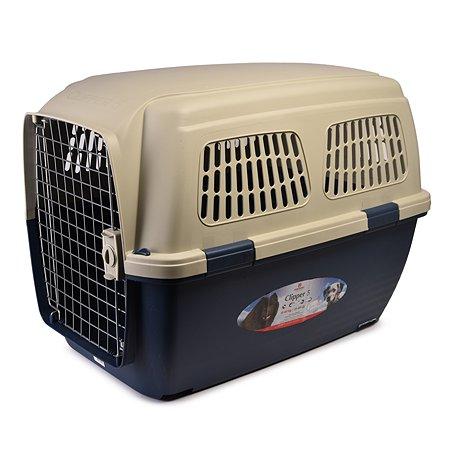 Переноска для кошек и собак MARCHIORO Cayman 5 Сине-бежевая