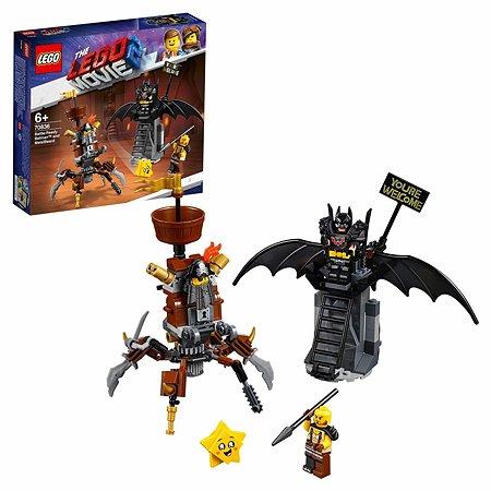 Конструктор LEGO Movie Боевой Бэтмен и Железная борода 70836