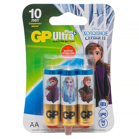 Батарейки GP Frozen АА (LR6) 6шт 15AUPFR2-2CR6