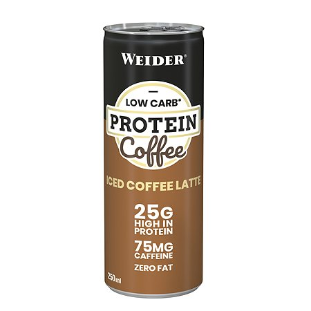 Напиток WEIDER Low Carb protein shake кофе 250мл