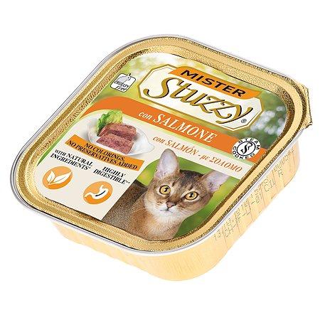 Корм для кошек Stuzzy Mister с лососем консервированный 100г