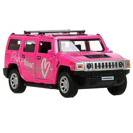 Машина Технопарк Hummer H2 Спорт Розовый 303052