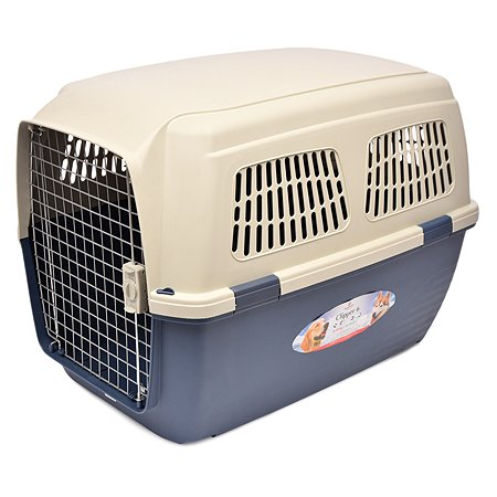 Переноска для кошек и собак MARCHIORO Cayman 6 Сине-бежевая