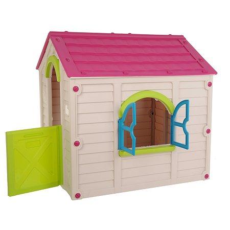 Дом игровой Keter Rancho Ecru-Violet 17609669