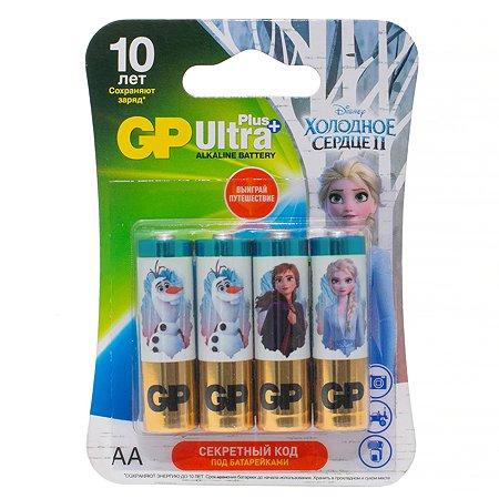 Батарейки GP Frozen АА (LR6) 4шт 15AUPFR2-2CR4