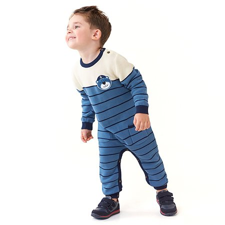 Комбинезон BabyGo Trend голубой