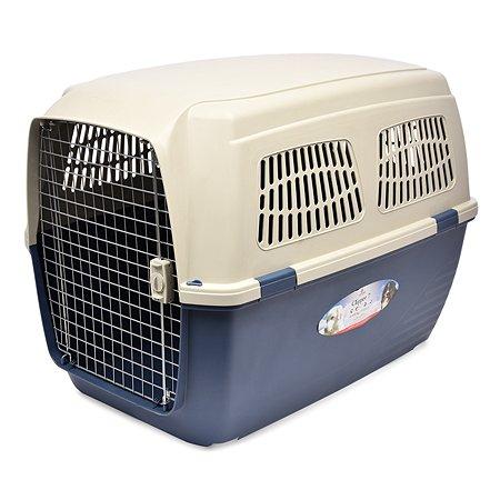 Переноска для кошек и собак MARCHIORO Cayman 7 Сине-бежевая