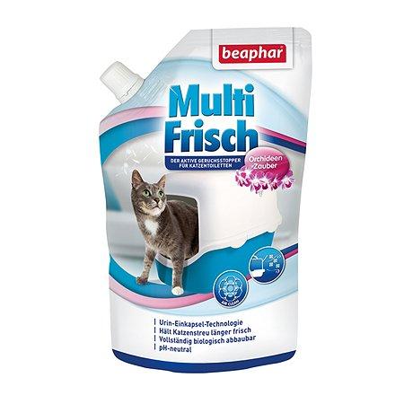 Устранитель запаха для кошачьего туалета Beaphar Multi Frisch орхидея 400г