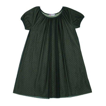 Платье Cherubino зелёное