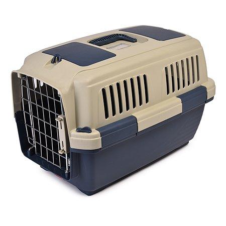 Переноска для кошек и собак MARCHIORO Tortuga 1 Сине-бежевая