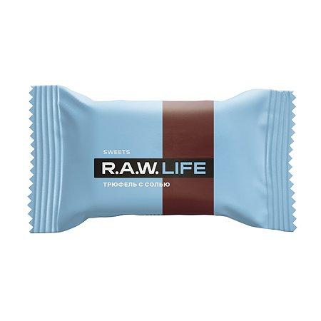 Конфета R.A.W.LIFE Sweets трюфель с солью 18г