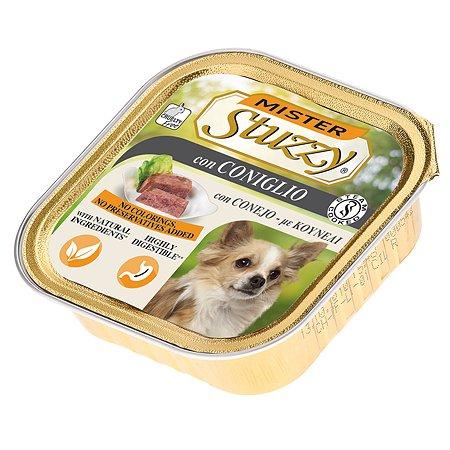Корм для собак Stuzzy Mister с кроликом консервированный 150г