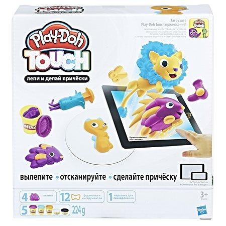 Набор для творчества Play-Doh Лепи и делай прически