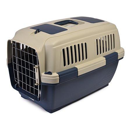 Переноска для кошек и собак MARCHIORO Tortuga 2 Сине-бежевая