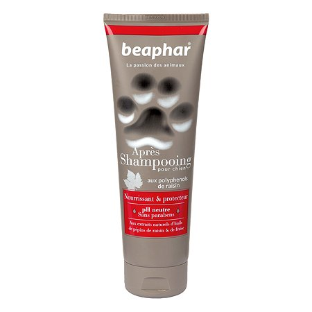 Кондиционер для собак Beaphar French Premium Conditioner с маслом виноградных косточек и клубникой 250мл