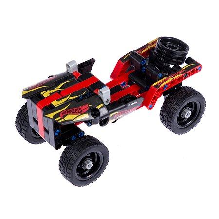 Конструктор 1TOY Hot Wheels Quadro 135деталей Т15399