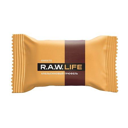 Конфета R.A.W.LIFE Sweets апельсиновый трюфель 18г