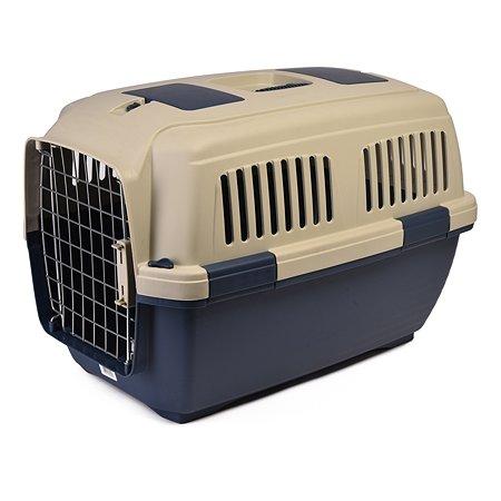 Переноска для кошек и собак MARCHIORO Tortuga 3 Сине-бежевая