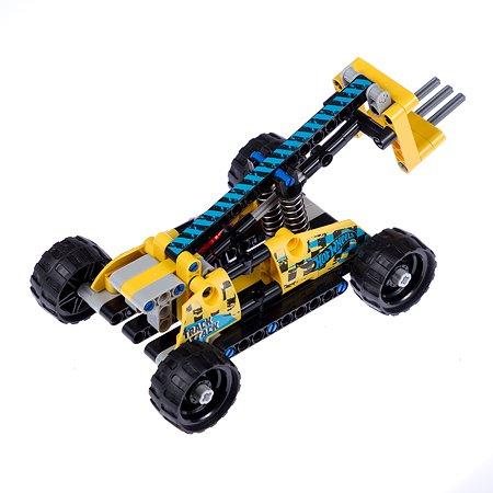 Конструктор 1TOY Hot Wheels Racer 135деталей Т15400