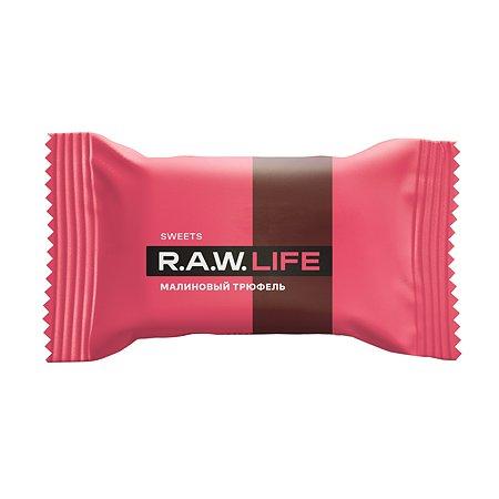 Конфета R.A.W.LIFE Sweets малиновый трюфель 18г