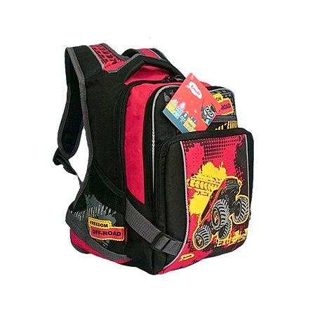 Рюкзак школьный Erhaft Джип (черный)