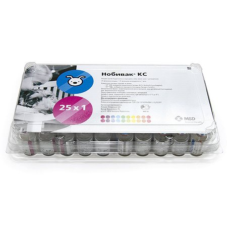 Вакцина для собак MSD Нобивак Rabies 1доза