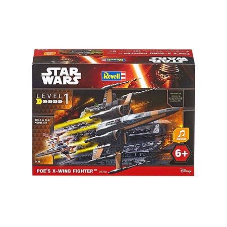 Модель для сборки Revell Звездные войны Истребитель По Собери и играй