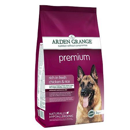 Корм для собак Arden Grange Adult Premium с курицей 2кг