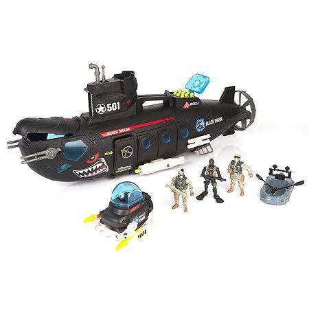 Боевая субмарина Chap Mei Батискаф 3 фигуры