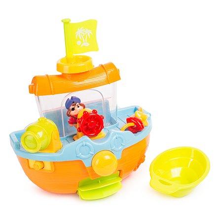 Пиратский корабль BabyGo для ванны