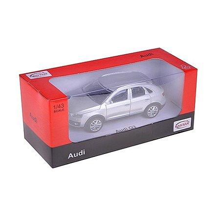 Машинка Rastar Audi Q3 1:43 сереб.