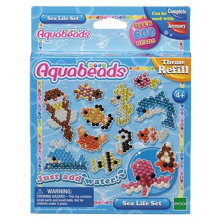 Тематический набор бусин Aquabeads Морские животные