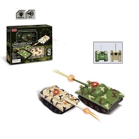 Танковый бой р/у Zhorya 2 танка (звук,зарядка)