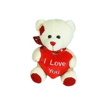 Медведь с сердцем Devik Toys 15 см в ассортименте