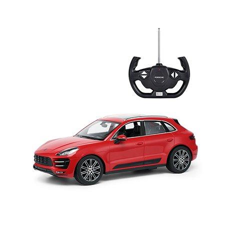 Машинка на радиоуправлении Rastar Porsche Macan 1:14 Красная