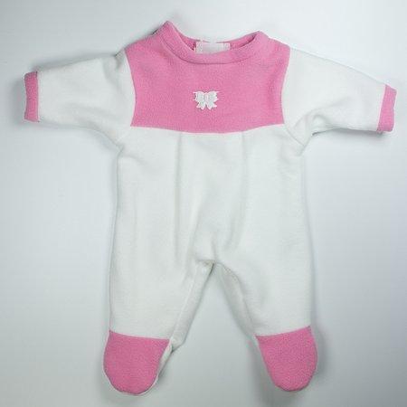 Одежда для кукол Модница Комбинезон из флиса с аппликацией для пупса 43 см в ассортименте