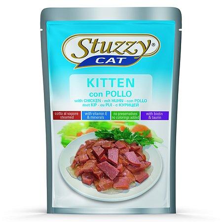 Корм для котят Stuzzy с курицей в соусе консервированный 100г