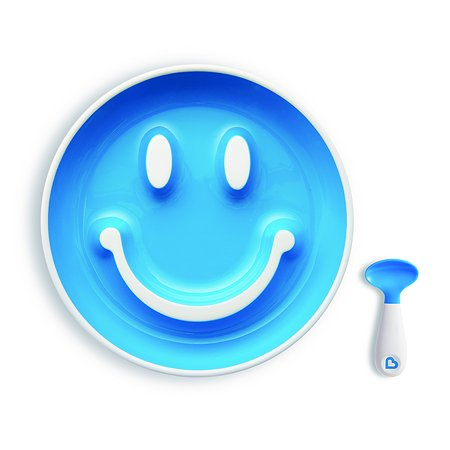 Набор для кормления Munchkin Улыбка Голубой 12449