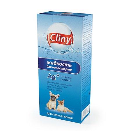 Жидкость для кошек и собак Cliny для полости рта 300мл 52671