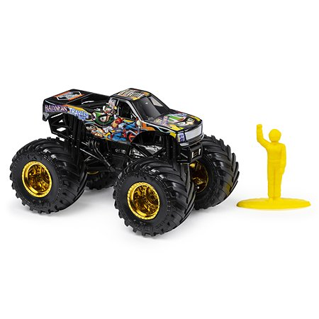 Машинка Monster Jam 1:64 BadNews Travels Fast 6044941/20116895