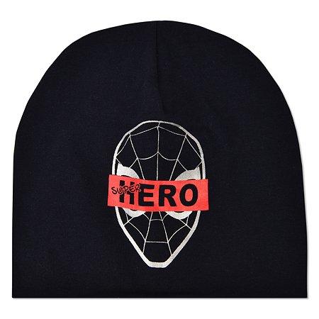 Шапка Spider-man тёмно-синяя