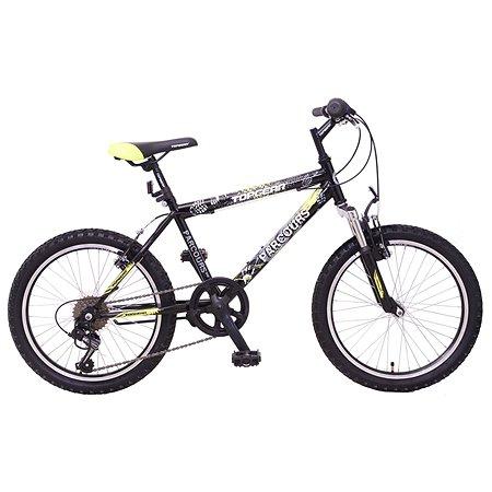 Велосипед TopGear Parcours 20 дюймов Черно-желтый ВН20149