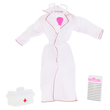 Одежда для куклы Карапуз для врача с аксессуарами 295976