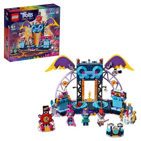 Конструктор LEGO Trolls Концерт в городе Рок-на-Вулкане 41254